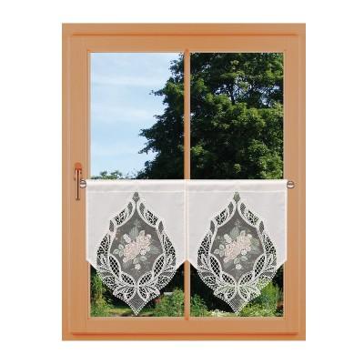 Landhaus-Scheibenhänger Rose Natur Dekorationsbeispiel