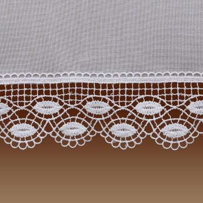 Feenhausgardine Helen Plauener-Spitzengardine Detailbild