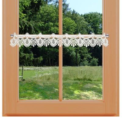 Feenhaus-Spitzenkante Seldi 9 cm am Sommer-Fenster