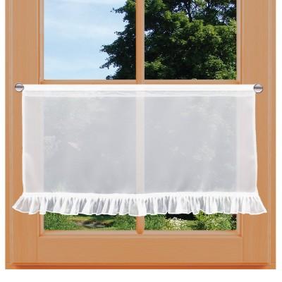 Scheibenhänger Salome weiß am Fenster