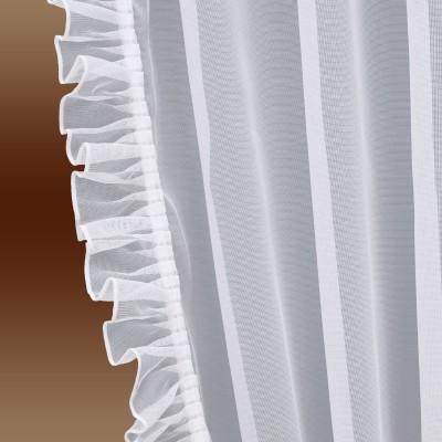 Seitenschalgarnitur Salome Set 4-teilig Detail Falbel
