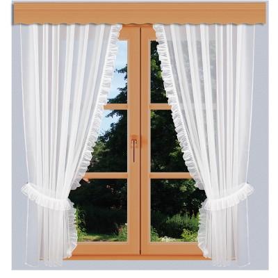 Seitenschalgarnitur Salome Set 4-teilig am Fenster