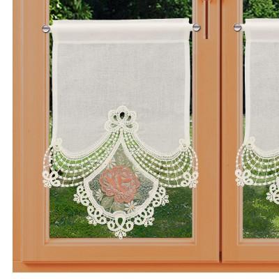 Scheibenhänger Serafina orange am Fenster