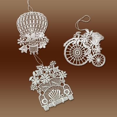 Blumenmobile 3 Stück  Glücksanhänger