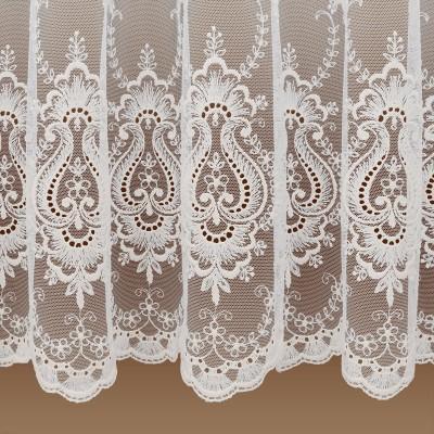 Florentiner Tüllstickerei  Store Celia Detail Faltenwurf