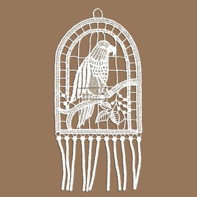 Papagei Klassisches Fensterbild
