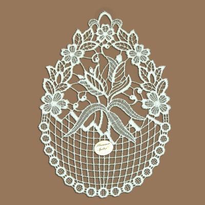 Tulpenkorb Klassisches Blumen-Fensterbild