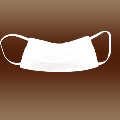 Mundschutz Gesichtsmaske für Kinder weiß zweilagig gefaltet