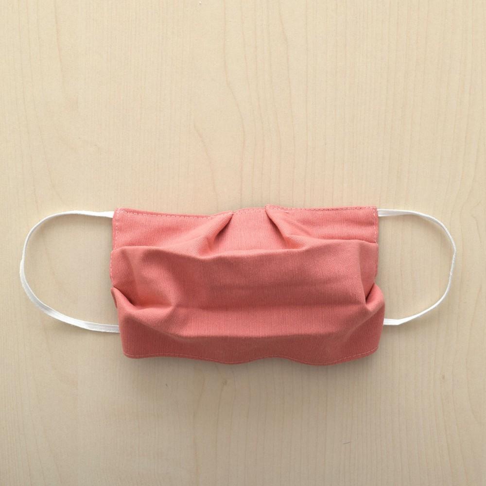 Mund- und Nasen-Maske Behelfs-Mundschutz in Lachs Muster