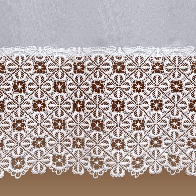 Sockel-Store Marsilia weiß Detailbild
