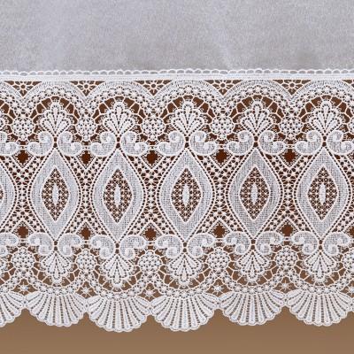 Sockelgardine Chrissi Detailbild Spitze
