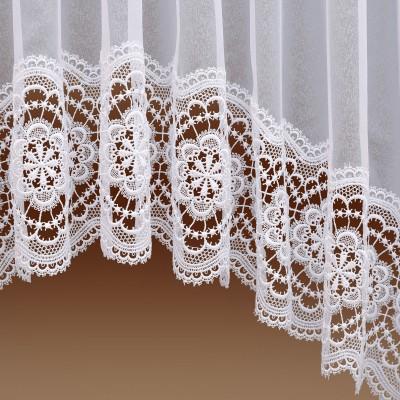 Edler Blumenfenster-Store Eva Detailbild