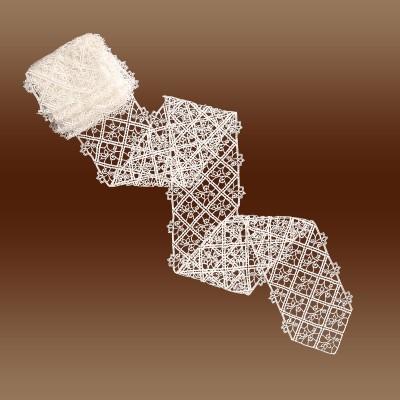 Spitzenband Sissi 18 cm breit Meterware Muster