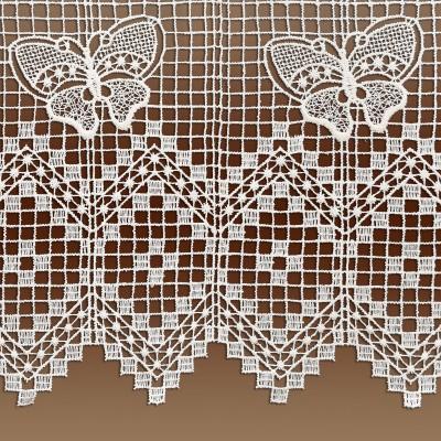 Scheibenhänger Butterfly in natur Plauener Spitze Detailbild