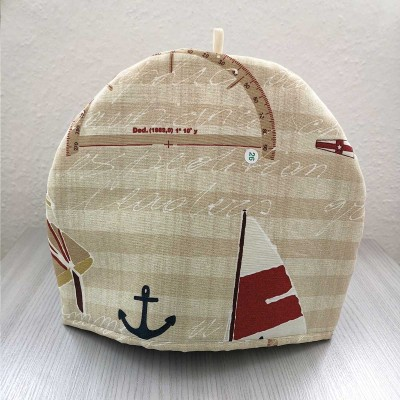 Maritimer Kaffeewärmer Sailing