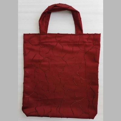 Tragetasche Einkaufstasche Rona weinrot 40 x 35 cm
