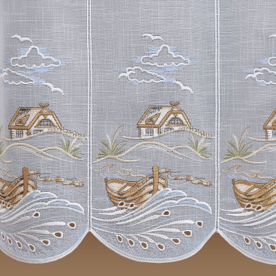 Scheibenhänger Dünenlandschaft mit Meeresbrise Detailbild
