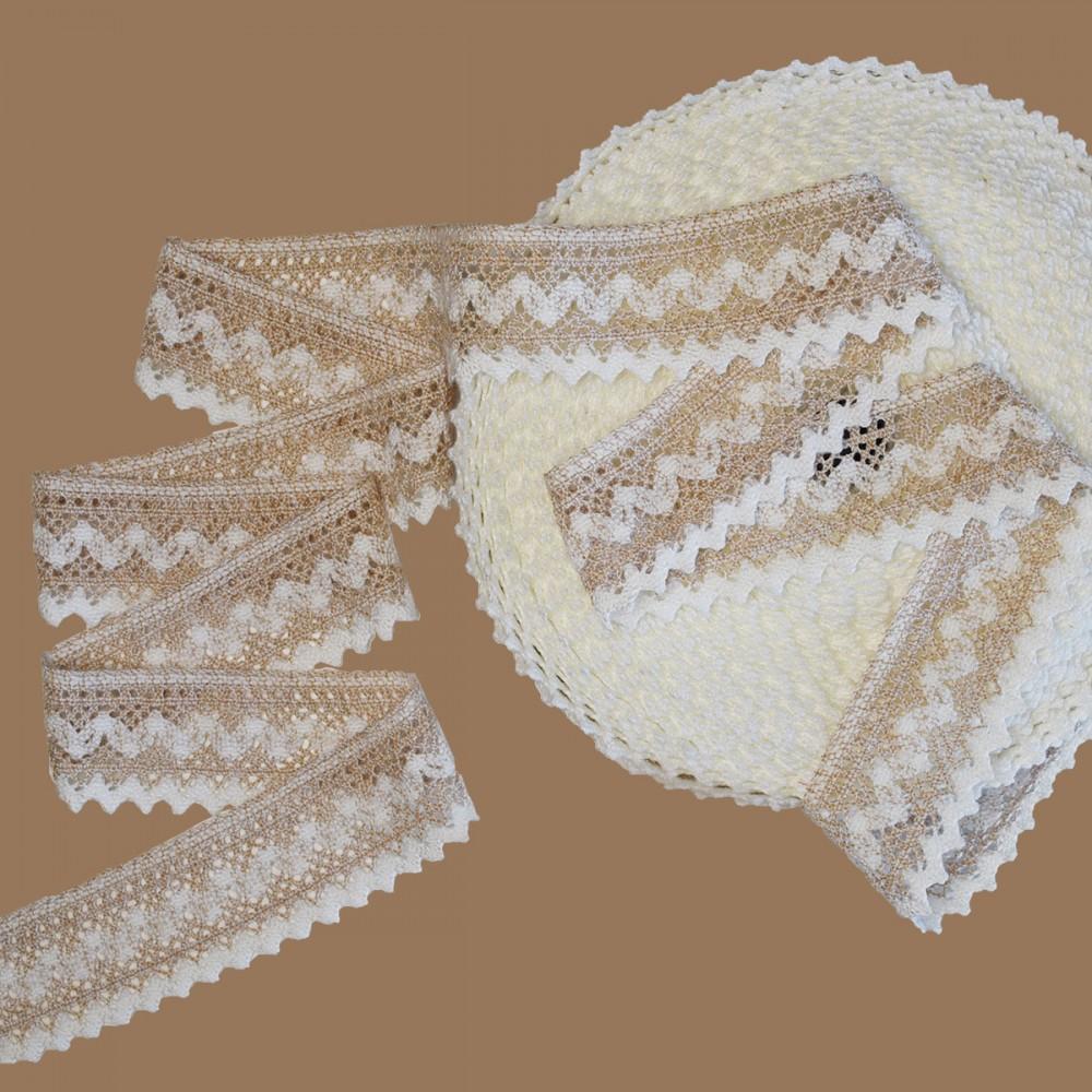 spitzenband wendy meterware 7 cm breit in beige rohwei restposten. Black Bedroom Furniture Sets. Home Design Ideas