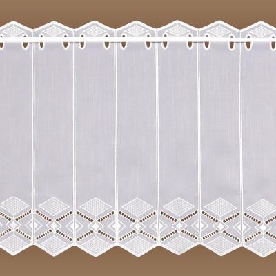 kurzgardine cynthia plauener spitze k seleinen feenhaus gardine. Black Bedroom Furniture Sets. Home Design Ideas