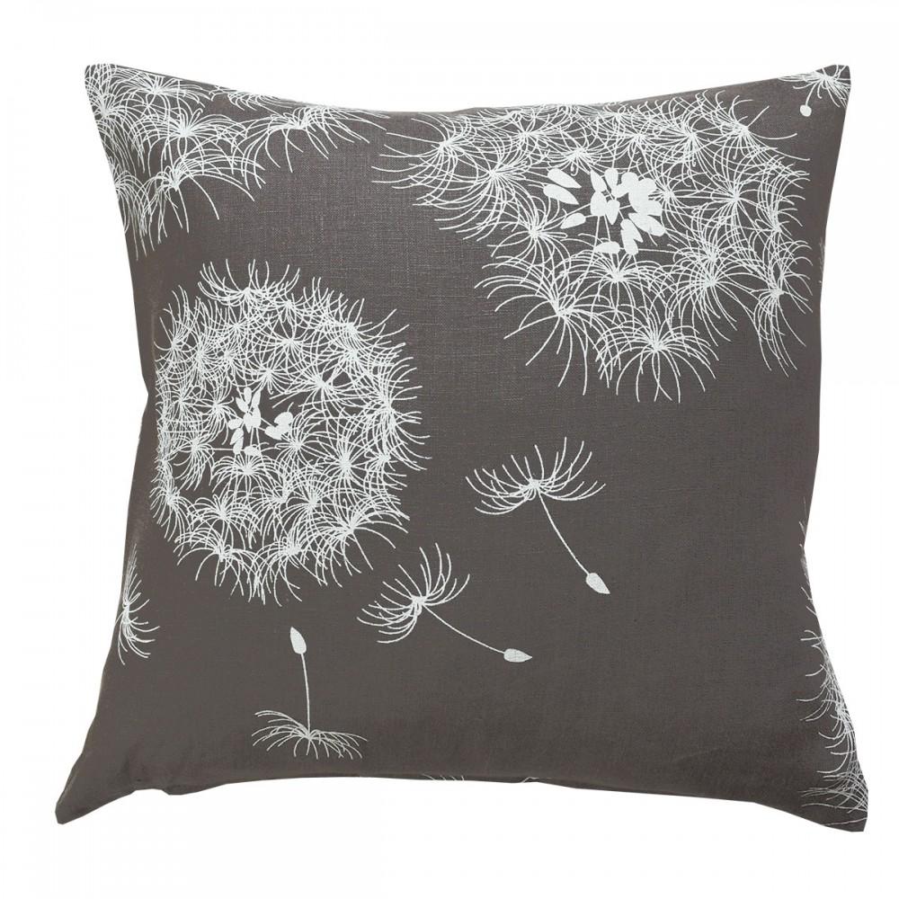 Kissenhülle Pusteblume 40 x 40 cm mit Reißverschluss - Darstellung mit Füllung